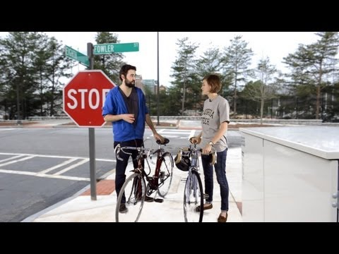 Goofus and Gallant Talk Bike Safety