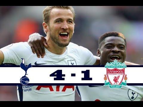 Tottenham 4 vs 1 Liverpool All Goals & Highlights HD 22 10 2017