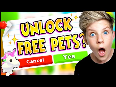 Unlock FREE LEGENDARY PETS in Adopt Me?! Can We Get The Tik Tok Hacks To Work? PREZLEY