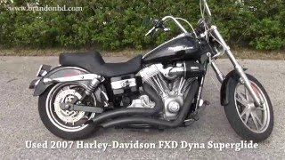 2. 2007 Harley Davidson FXD Dyna Superglide Motorbike for sale in Florida