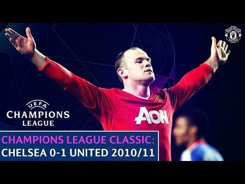 UEFA Champions League Classic | Chelsea 0-1 Manchester United | Quarter-Final 1st Leg | 2010/11