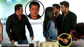 Video Salman Khan Gets ANGRY On Katrina Kaif As She FLIRTS With Manish Paul At Da-Bangg Tour Pune MP3, 3GP, MP4, WEBM, AVI, FLV April 2018