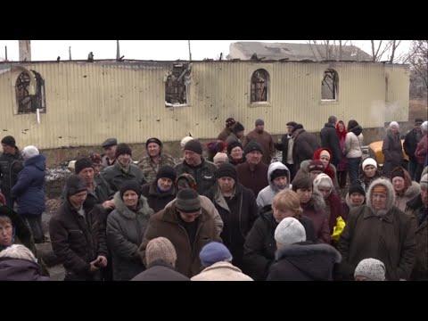 Ukraine: Destroyed Town