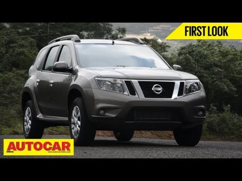 2013 Nissan Terrano Compact SUV | First Look Video | Autocar India