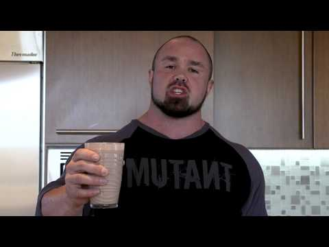 MUTANT MEALS - Ron's High Carb Shake