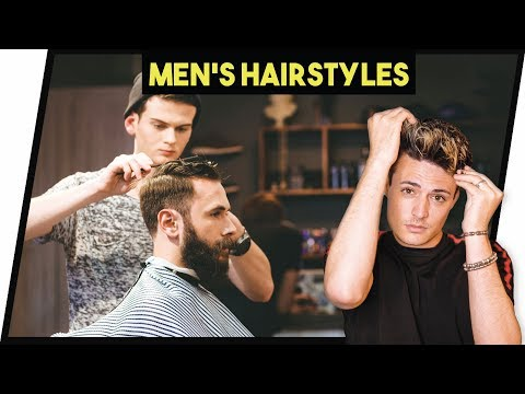 Mens hairstyles - 3 Mens HAIRCUTS & 2 Easy HAIR Tutorials for Men 2018 (EP.3)  Mens Hair  BluMaan 2018