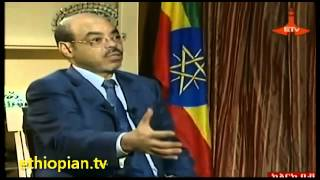 The Late Ethiopian PM Meles Zenawi Interview With Egyptian TV On Nile Sharing