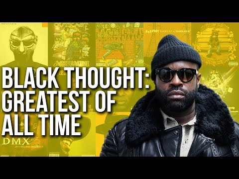 Black Thought: Greatest Rapper Of All Time
