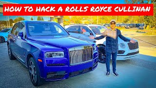 HOW TO STEAL A ROLLS ROYCE CULLINAN *HACK* by Vehicle Virgins