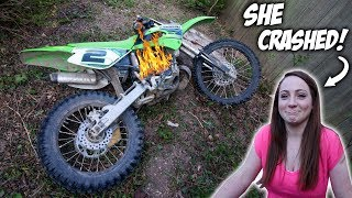 6. New KX100 Is TOTALED!
