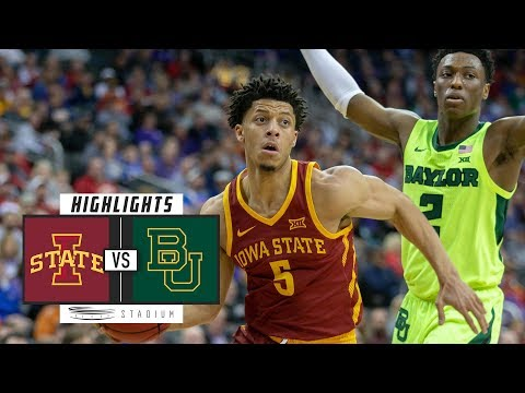 Iowa State vs. Baylor Basketball Highlights (2018-19) | Stadium