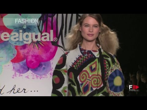DESIGUAL Show New York Autumn Winter 2015 2016  by Fashion Channel