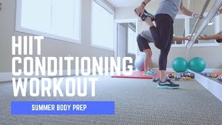 He Made Me Do It!!! HIIT Conditioning Workout and Epic Smoothie