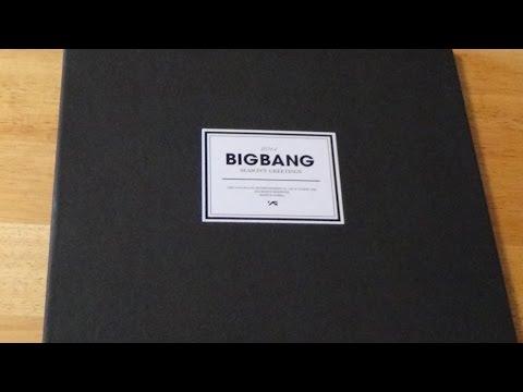 Big Bang 2014 Seasons Greeting Unboxing