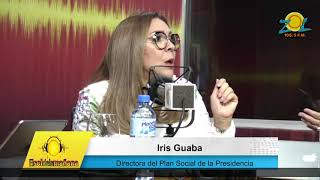 Iris Guaba dir. plan social habla de los preparativos para el reparto de las cajas navideñas
