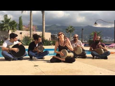 darbuka - Raquy Danziger accompanied by her Lebanese Drumming Team and Rami El Aasser filmed in Beirut, Lebanon. Thanks to Lev Elman for nominating me! Thank you Theo!
