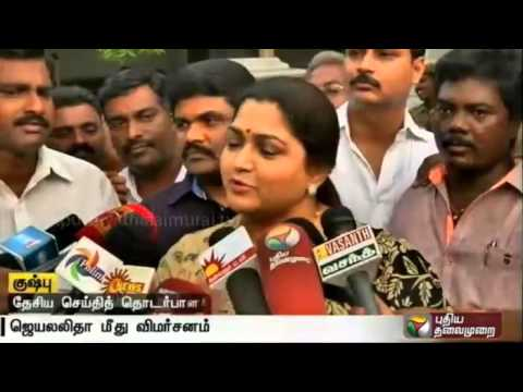 Jayalalithaa-not-worried-about-people-dying-in-her-election-campaign-Kushboo