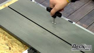 How to Install & Remove decking boards with iDecking EasyChange system