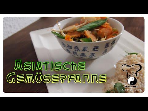 Asiatische Gemüsepfanne mit Kokos-Reis