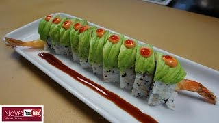 Dragon Roll - How To Make Sushi Series by Diaries of a Master Sushi Chef