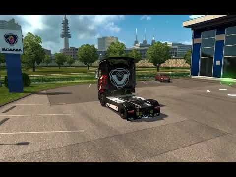 Truck Scania R700 for ETS2 1.28.x