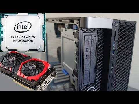 DELL T5820 W-2145 GTX 1080Ti Workstation Review and Benchmark tests