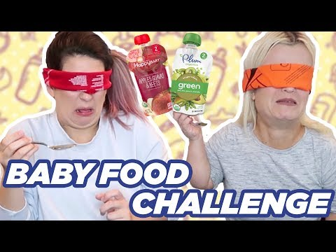 Trying The Baby Food Challenge (with Terra Jolé)!