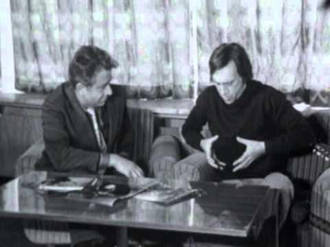 Владимир Высоцкий - Москва, 1975, Болгарское ТВ (видео)