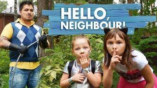 ПРИВЕТ СОСЕД в реальной жизни! У ПАПЫ есть ТАЙНА! Hello Neighbor