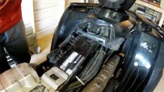 8. CAN-AM OUTLANDER CARBURETOR CLEANING