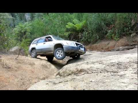 Subaru Forester Off Road - Bunyip Rock Climb - Part 3 of 3 (видео)