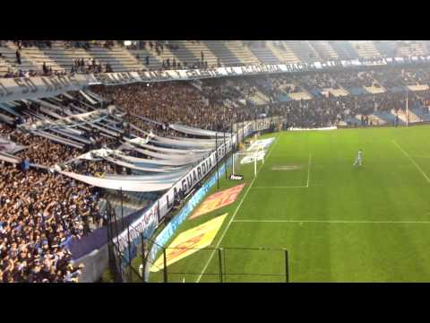 Video - Racing Hinchada em Estádio Juan Domingo Perón - La Guardia Imperial - Racing Club - Argentina