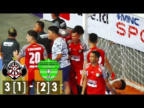 Adu Penalti Black Steel Vs Permata Indah Manokwari [1-2] - Juara 3 Futsal Pro League 2018