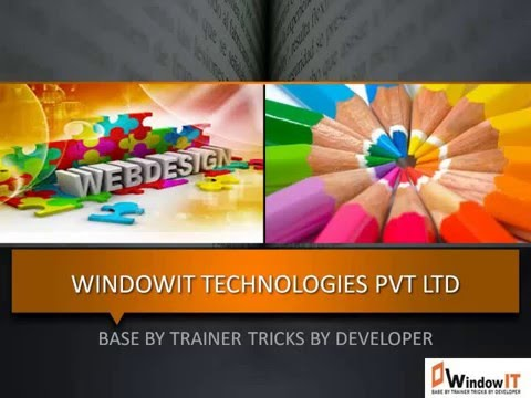 Web Designing Training in Chandigarh Join Windowit