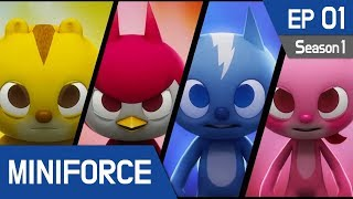 Video MINIFORCE Season1 Ep.1: New Heroes MP3, 3GP, MP4, WEBM, AVI, FLV September 2018