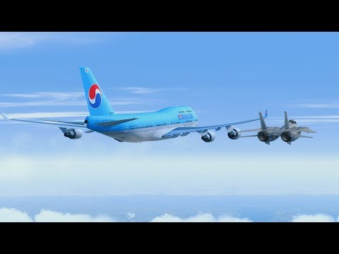 Chaos Over Alaska - Korean Air Flight 85