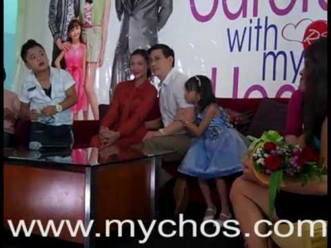 MYCHOS Presents BE CAREFUL WITH MY HEART SABADO REWIND PRess Conference