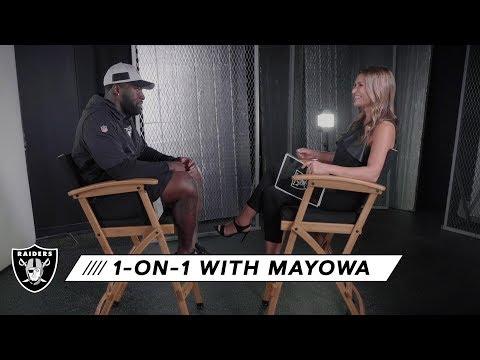 Benson Mayowa talks pass rush and defensive line coach Brentson Buckner | Raiders