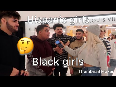 PUBLIC INTERVIEW (BLACK GIRLS VS. HISPANICS )