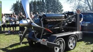 1943 Allison V-1710 Aircraft Engine Napier New Zealand 07/05/2017