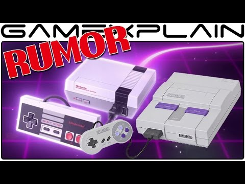 RUMOR - SNES Classic in Development; NES Classic Discontinued to Help Production