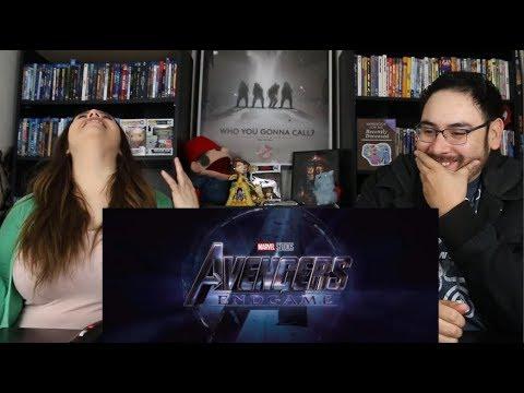 Avengers ENDGAME - Official Trailer 2 Reaction / Review