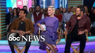 Katy Perry, Luke Bryan and Lionel Richie dish on new 'American Idol' | GMA