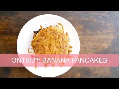 Budget ontbijt 7: banana pancakes | Girlscene