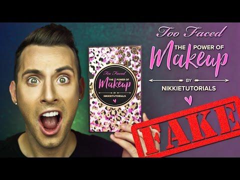FAKE ASS Too Faced THE POWER OF MAKEUP | NikkieTutorials | PopLuxe