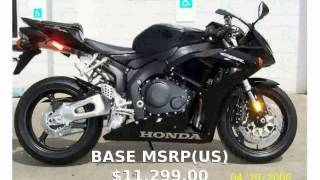 2. 2006 Honda CBR 1000RR - Specification and Walkaround