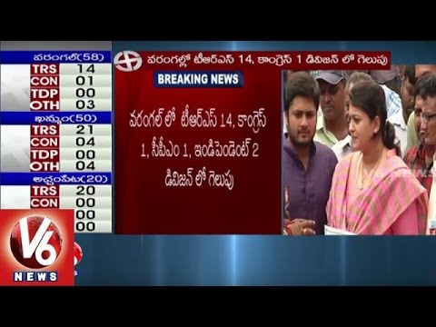 I-Will-Work-For-Development-Of-Division-TRS-Candidate-Arshitha-Reddy-Warangal-Elections-Result-09-03-2016