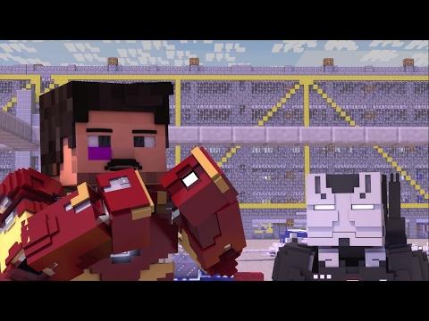Video Captain America Civil War: Aiport Battle(UNDEROOS) Minecraft Animation version download in MP3, 3GP, MP4, WEBM, AVI, FLV January 2017