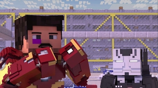 Video Captain America Civil War: Aiport Battle(UNDEROOS) Minecraft Animation version download in MP3, 3GP, MP4, WEBM, AVI, FLV January 2017