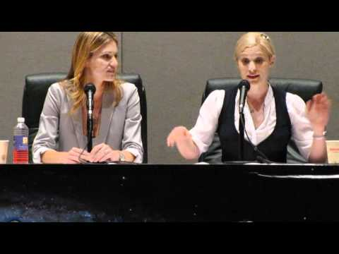 Katee Sackhoff - Tricia Helfer and Katee Sackhoff at the Women of Scifi Convention in Plano, TX 2011.